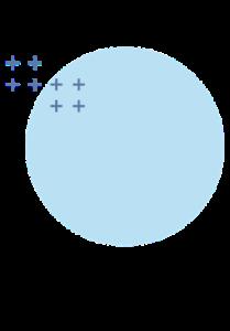 Petit design bleu FISI