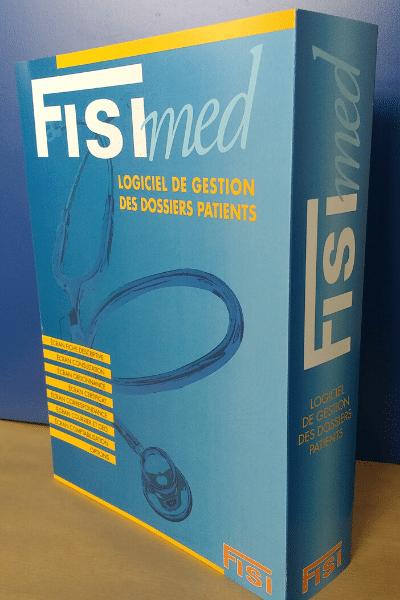 Boîte logiciel FISImed gestion cabinet