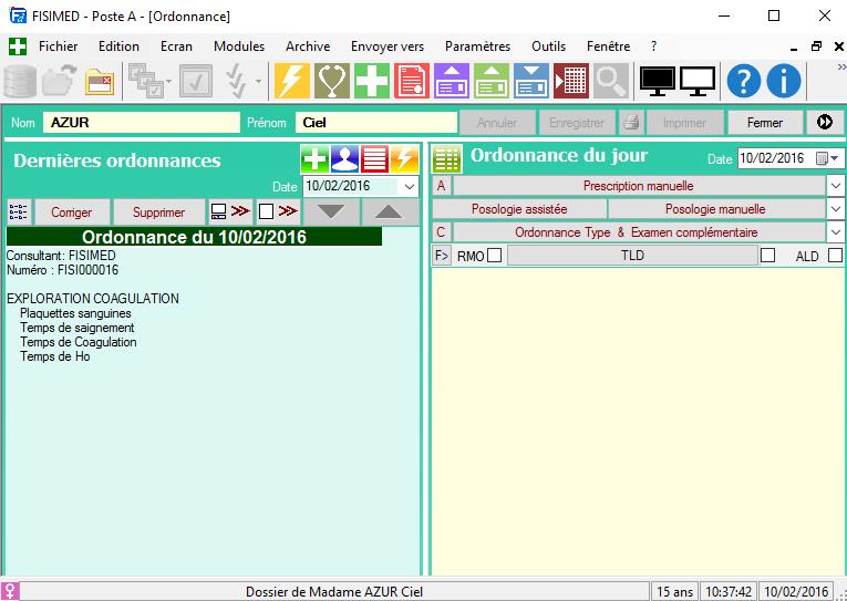 Interface FISImed FISI